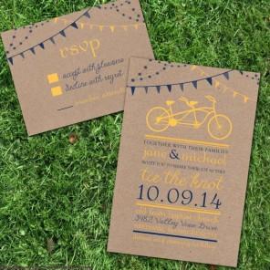 rower jako temat  przewodni ślubu i wesela 15