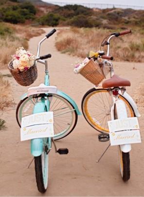 rower jako temat  przewodni ślubu i wesela 16