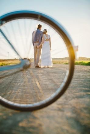 rower jako temat  przewodni ślubu i wesela 2