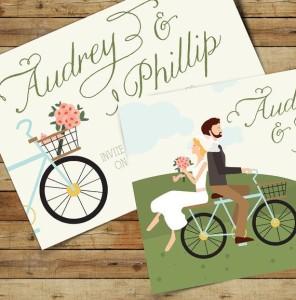 rower jako temat  przewodni ślubu i wesela 5