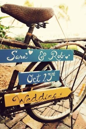 rower jako temat  przewodni ślubu i wesela 9