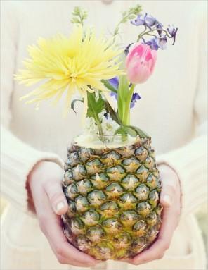 ananas jako motyw przewodni ślubu i wesela 1