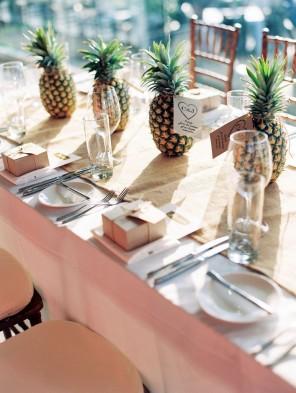 ananas jako motyw przewodni ślubu i wesela 11