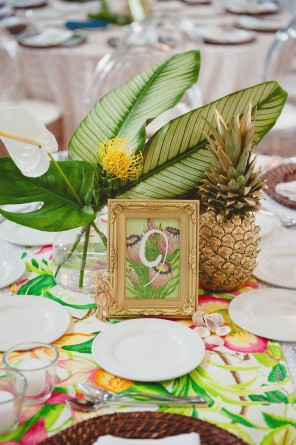 ananas jako motyw przewodni ślubu i wesela 15