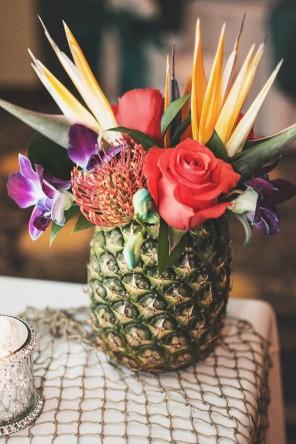 ananas jako motyw przewodni ślubu i wesela 17