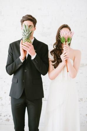 ananas jako motyw przewodni ślubu i wesela 9