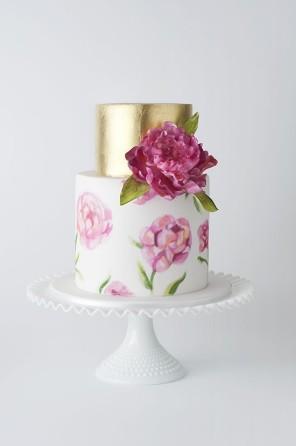 malowane torty 16