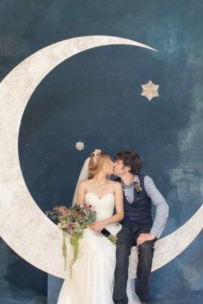 Gwiazdy i księżyc jako motyw przewodni ślubu i wesela 12