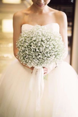Gipsówka jako temat przewodni ślubu i wesele