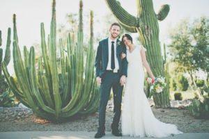 kaktus motyw przewodni ślubu i wesela