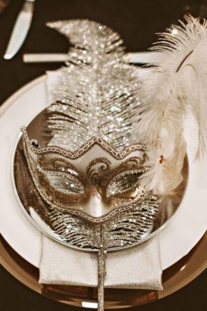 Wenecja motyw przewodni ślubu i wesela maska