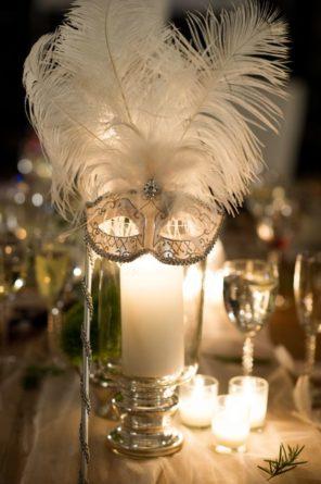 Wenecja motyw przewodni ślubu i wesela maska dekoracja