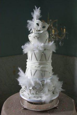 Wenecja motyw przewodni ślubu i wesela tort