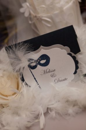Wenecja motyw przewodni ślubu i wesela winietki