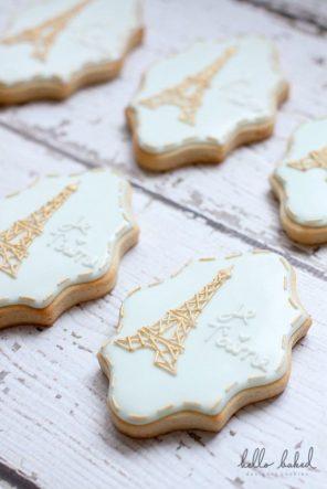 ciasteczka słodkości Paryż motyw przewodni ślubu i wesela 1
