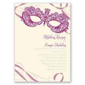 zaproszenia Wenecja motyw przewodni ślubu i wesela 1