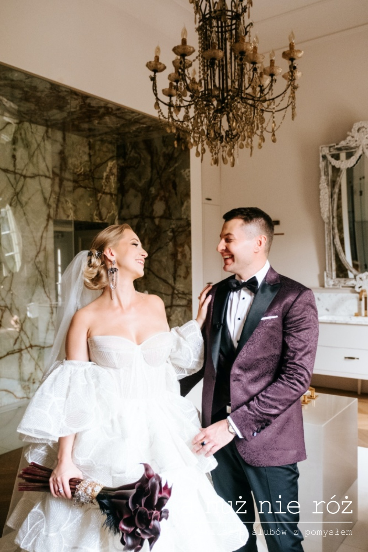 Great Gatsby motyw przewodni ślubu przyjęcia wesela Pałac Mała Wieś